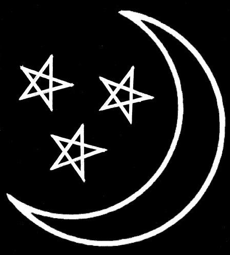 Coven Of The Catta Third Degree Tattoo Blau Stern Schwarz Schlonge