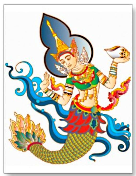 thai_deity_folklore_goddess_vintage_asian_art_postcard-p239433331140020885trdg_400