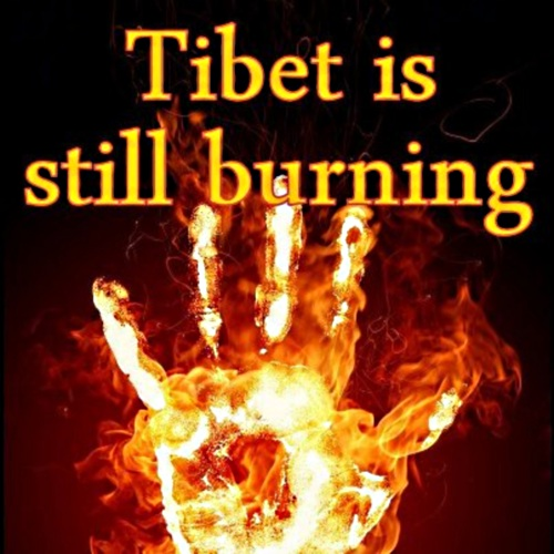 Tibet is still burning