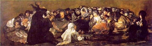 Akelarre by Francisco Goya