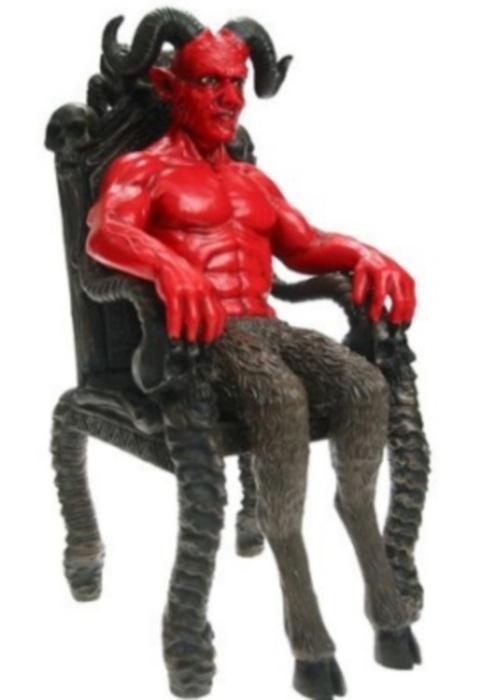 satan seated
