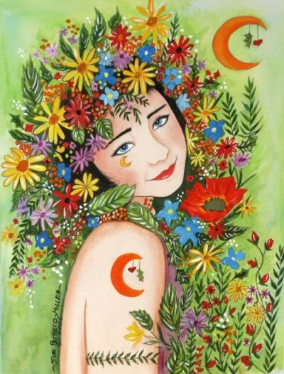 Beltane Goddess