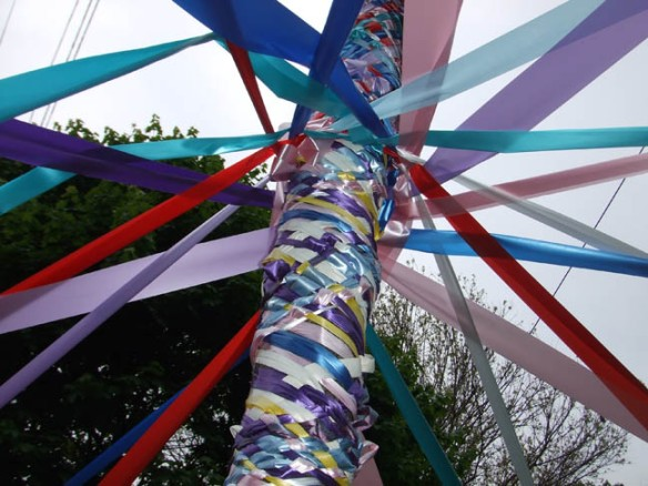 Maypole of besoms (2)