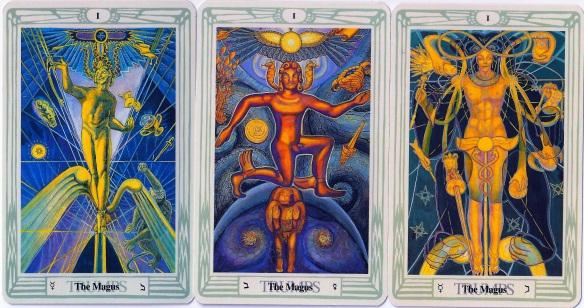AC 3 Magus tarot cards