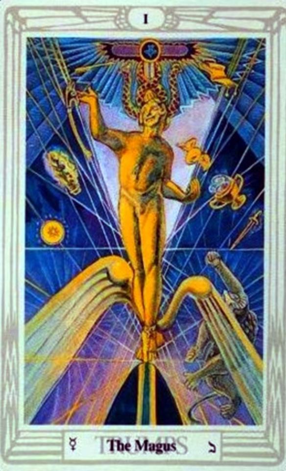AC Magus tarot card 1