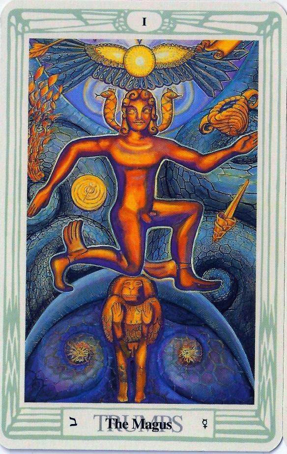 AC Magus tarot card 2