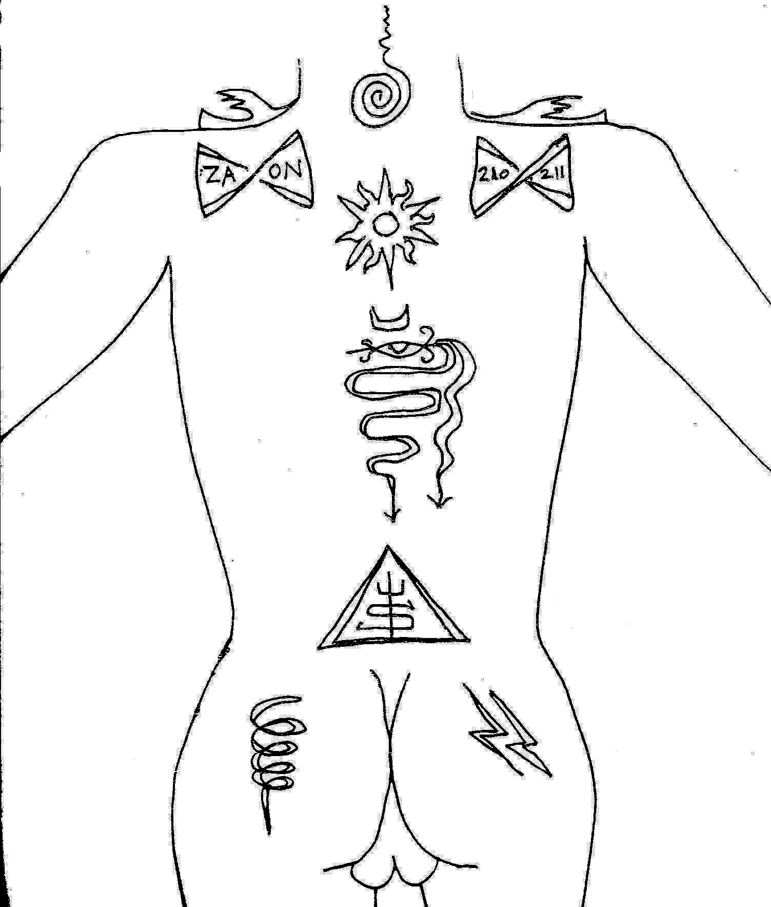 Tattoos of witchcraft and magicke blau stern schwarz schlonge back of torso with tattoo placements buycottarizona Images