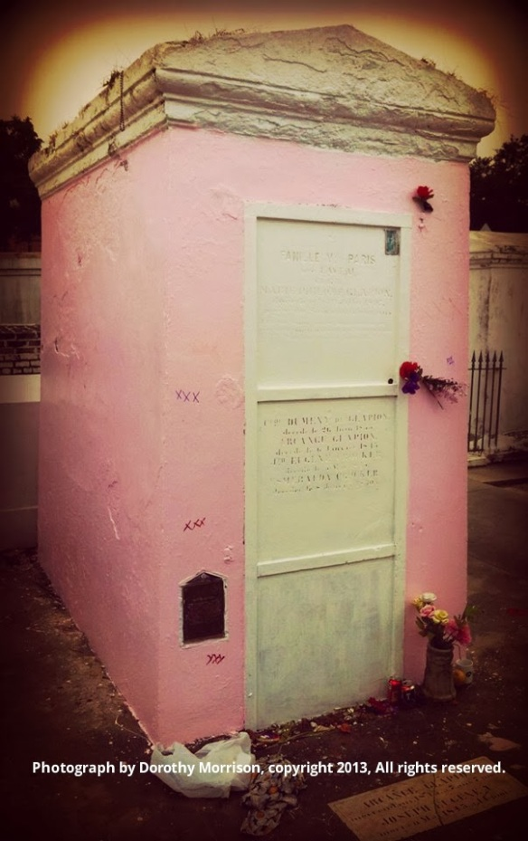 marie laveau's tomb-by dorothy morrison