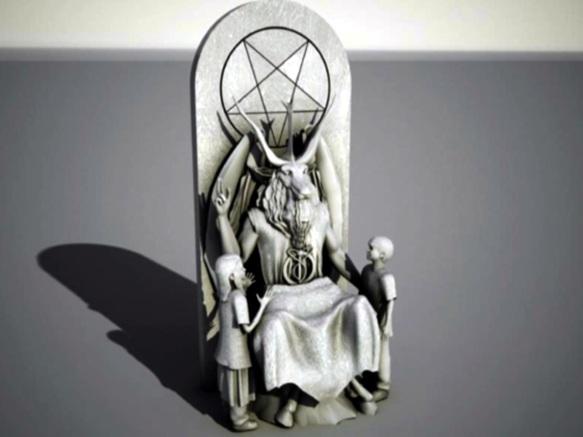 satanmonument