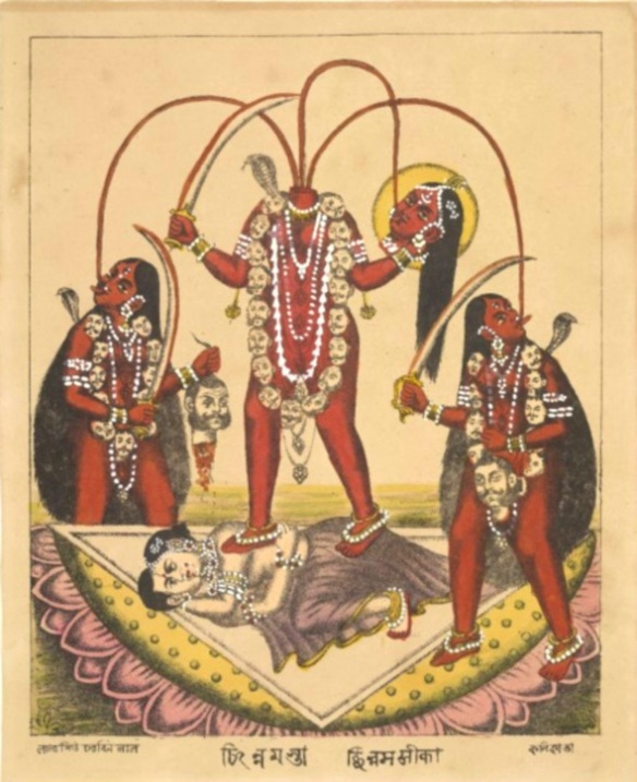 chinnamasta and attendants