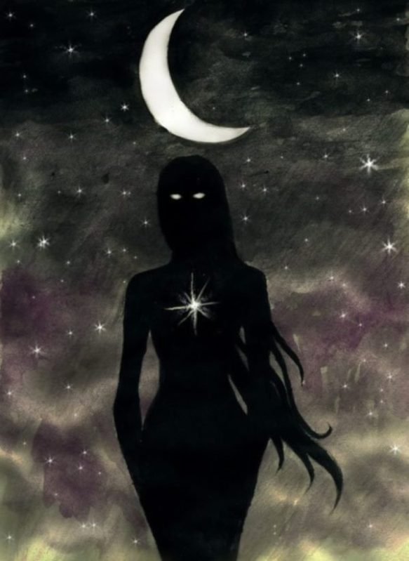 Dark Moon Star Goddess