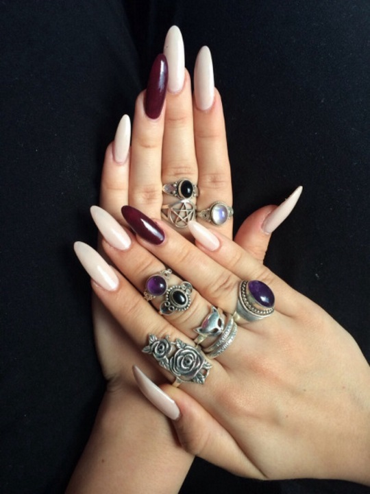 cassies hands nails rings