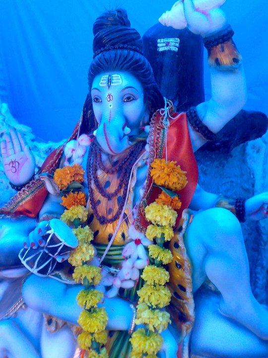Ganesha Blue