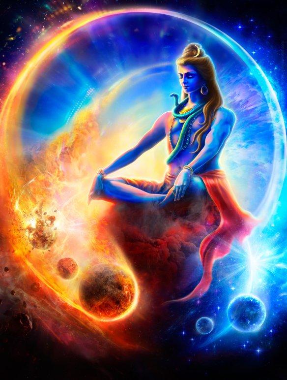 Shiva colorful