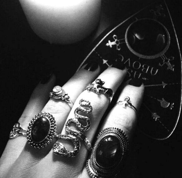 Gypsy Ouiji Ringed Hand
